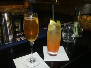 Classic Champagne Cocktail & Spitalfields Spritz