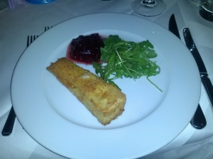 Brie with Cranberry Sauce